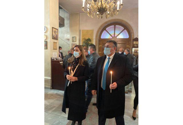 Николина Ангелкова и Младен Маринов