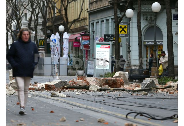 Ново земетресение в централна Хърватия