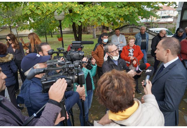 Откриване на кампанията на ГЕРБ-СДС в Ямбол