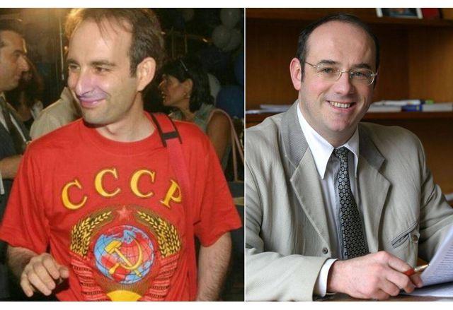 Петър Волгин и Атанас Семов днес