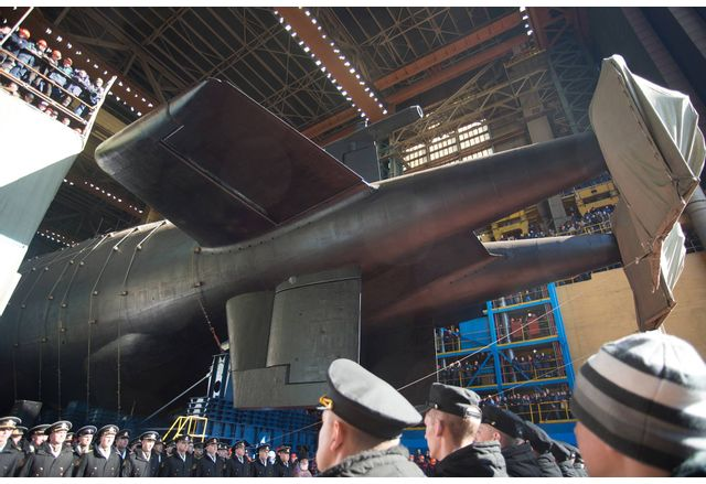 Подводница с дронове Посейдон - Белгород
