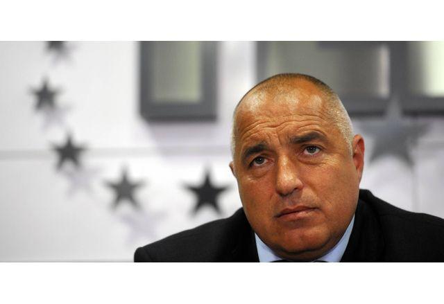 Председателят на ПП ГЕРБ Бойко Борисов