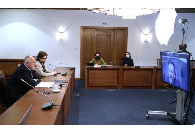 Премиерът  Борисов и заместник-генералния секретар на ОИСР Улрик Кнудсен обсъдиха пътя на България към организацията