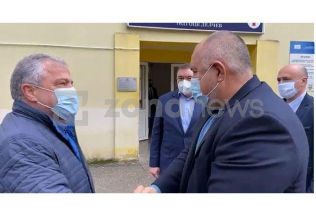 Премиерът Борисов в Гоце Делчев