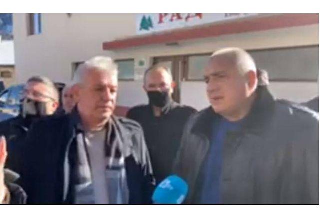 Премиерът Борисов в Лъки