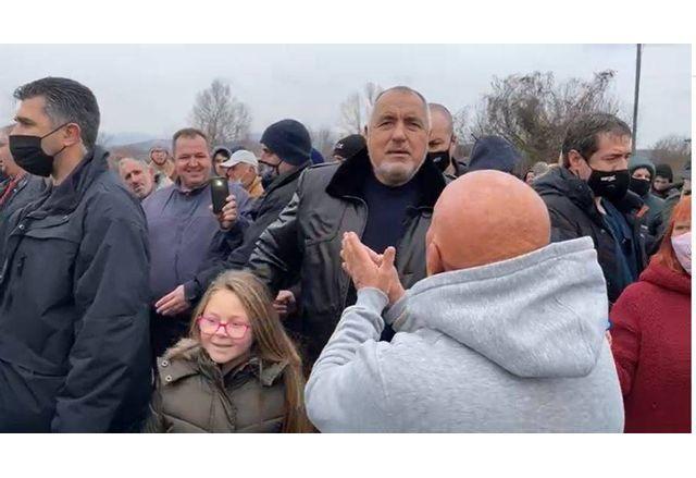 Премиерът Борисов в село Блатска