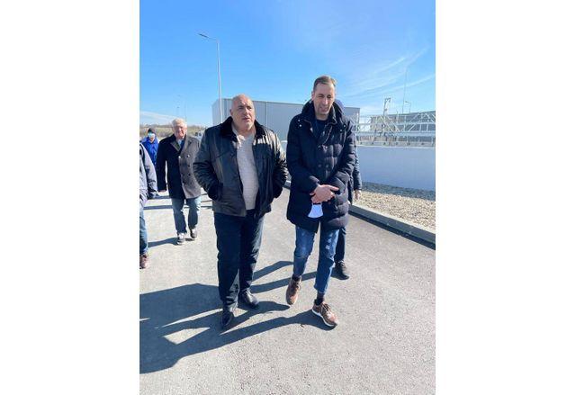 Премиерът Борисов инспектира пречиствателна станция в Ямбол