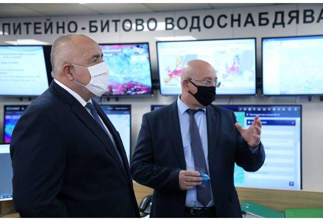 Премиерът Борисов към министър Димитров: Почистваме всичко и после контролът да е жесток