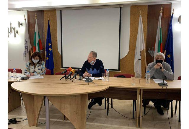 Пресконференцията на общинските съветници от ГЕРБ - Русе