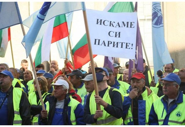 Протести на пътностроителните фирми