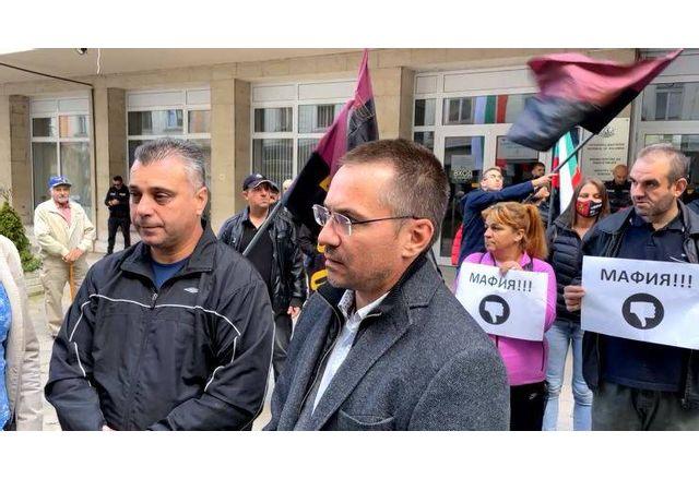 Протестът на ВМРО