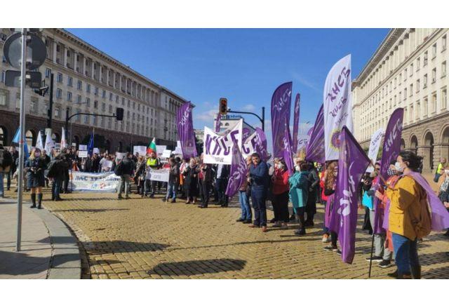 Протестът срещу скъпия ток