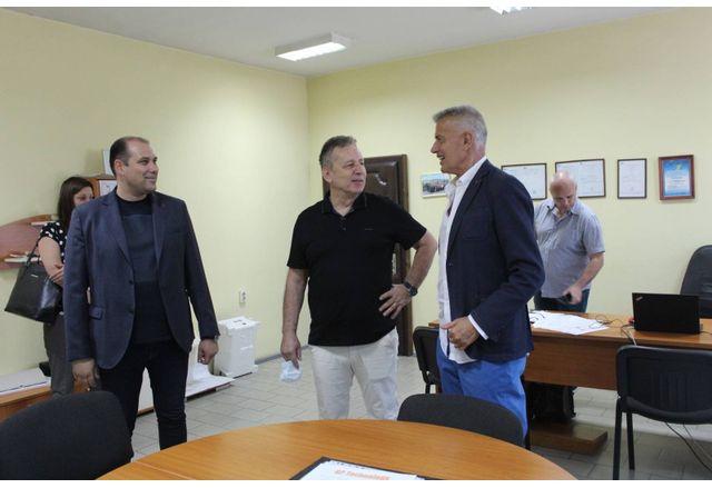 Проф. Григор Горчев и Красимир Дачев, бизнесмен