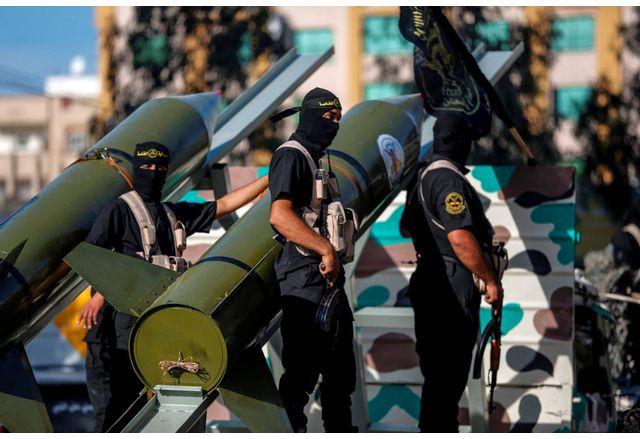 Ракетни установки на Хамас