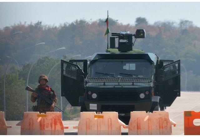 Военен преврат в Мианма