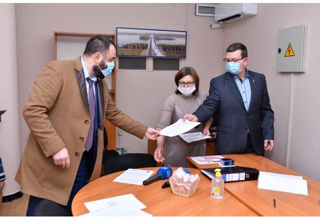 Регистрацията на листата на ПП ГЕРБ във Видин