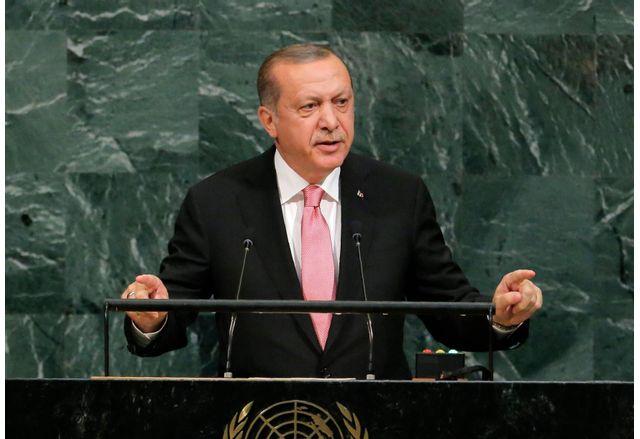 Реджеб Тайп Ердоган пред Общото събрание на ООН