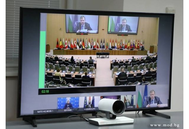 Редовната среща на министрите на отбраната на страните-членки на НАТО, проведена днес