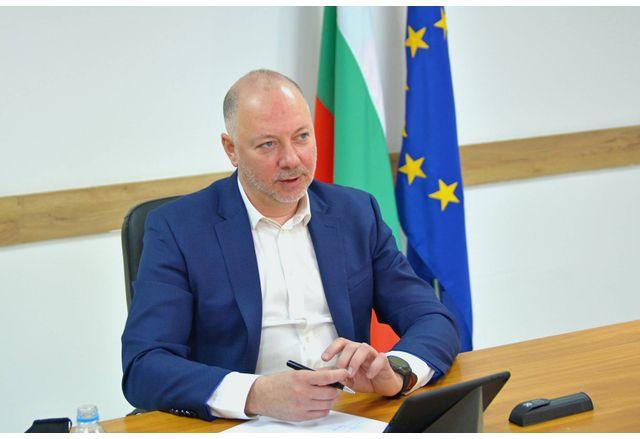 Росен Желязков, министърът на транспорта, информационните технологии и съобщенията