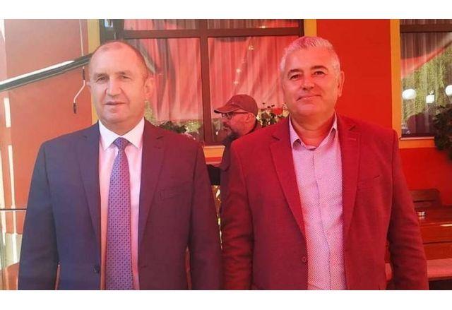 Румен Радев и Стефан Сабрутев