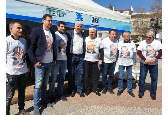 Ръководството на Локомотив Пловдив с категорична подкрепа за Бойко Борисов и ГЕРБ