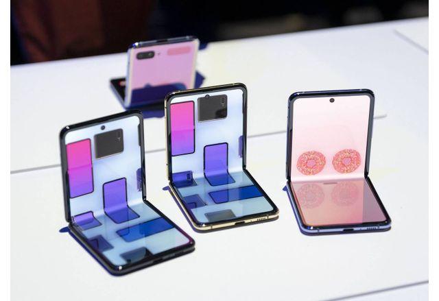 Сгъваемите смартфони на Samsung