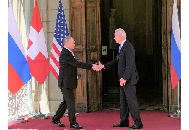 Срещата на Джо Байдън и Владимир Путин в Женева