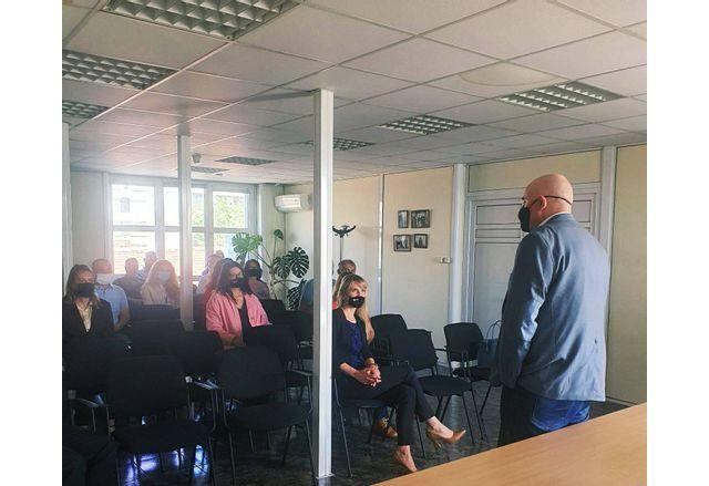 Срещата на Иван Гешев във Видин