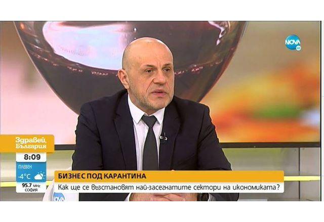 Томислав Дончев в NOVA