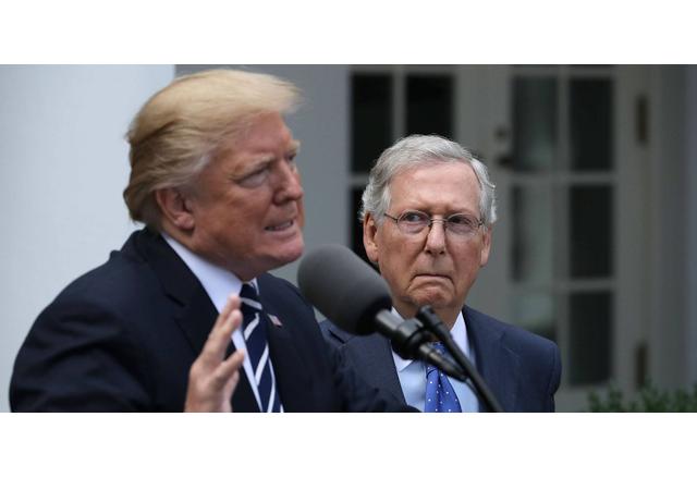 Тръмп излезе с остра критика към Мич Макконъл