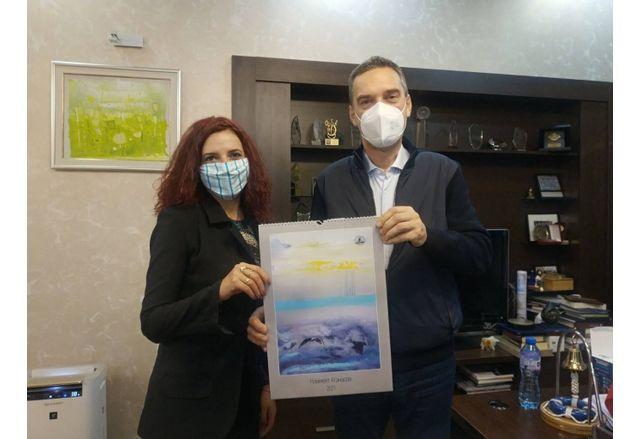 Фондация Евелин Дуков и Община Бургас ще организират съвместна кампания за безопасност по пътищата