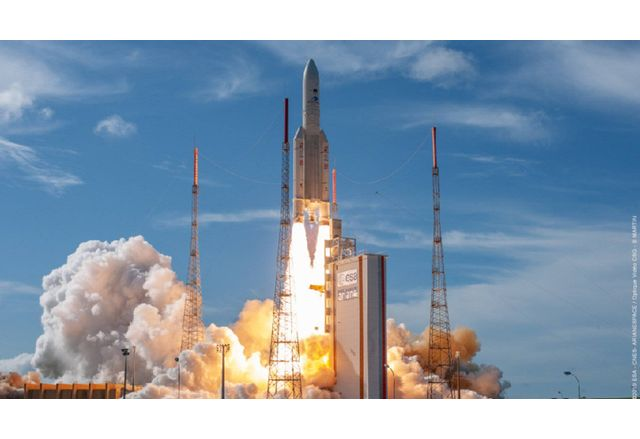 Франция изстреля военен сателит от последно поколение