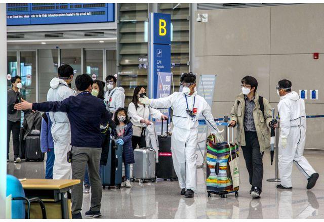 Южна Корея регистрира над 1000 случая на коронавирус за първи път от януари