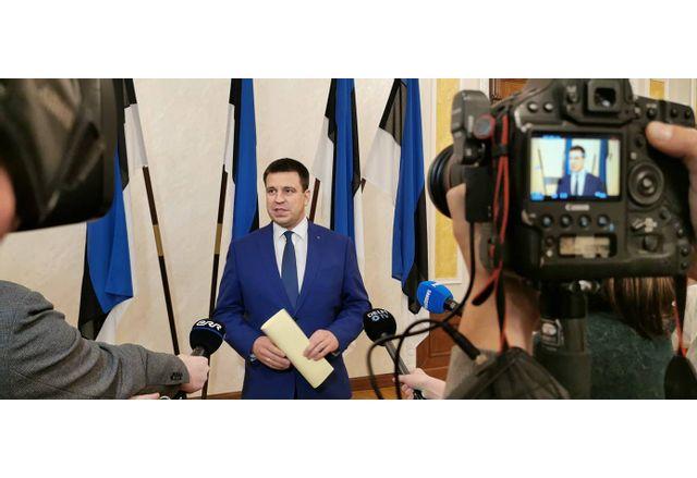 Юри Ратас подава оставка