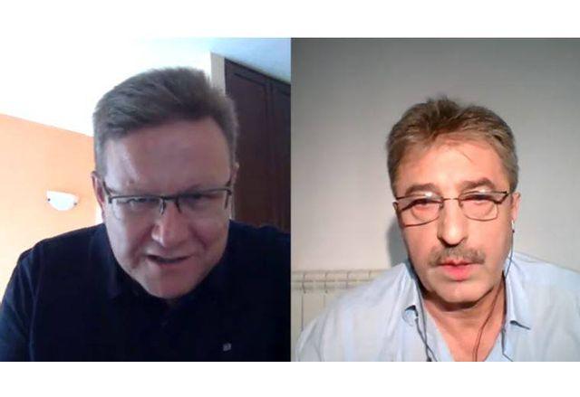 Явор Дачков и Цветан Василев