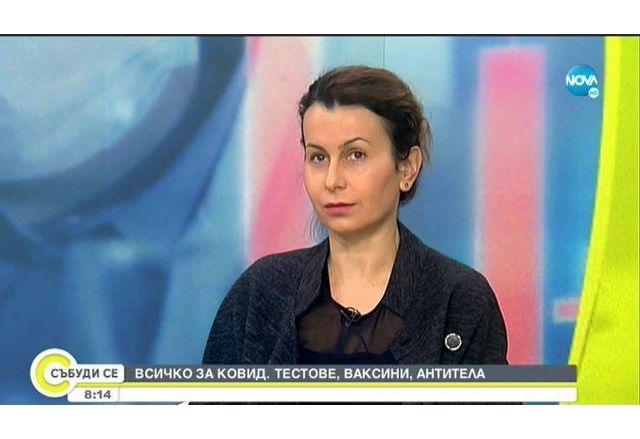 """д-р Ирена Иванова-началник на клиничната лаборатория в болница """"Свети Иван Рилски"""""""