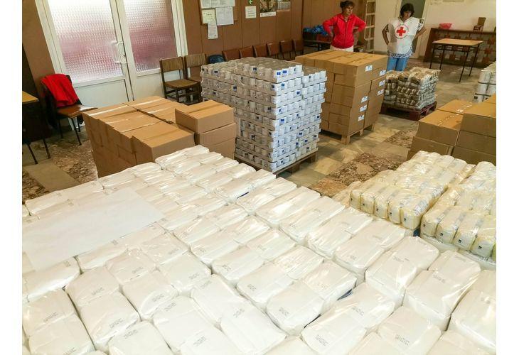 От понеделник започва раздаването на хранителни продукти на уязвими лица и семейства от Мездра