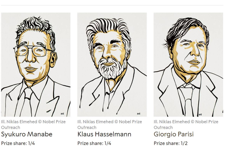 Трима учени си поделят Нобеловата награда за физика
